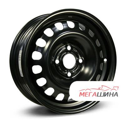 Alcar Stahlrad (KFZ) 6515 R14 / 5.5J PCD 4x100 ET 39 ЦО 56.6 Штампованные Черный
